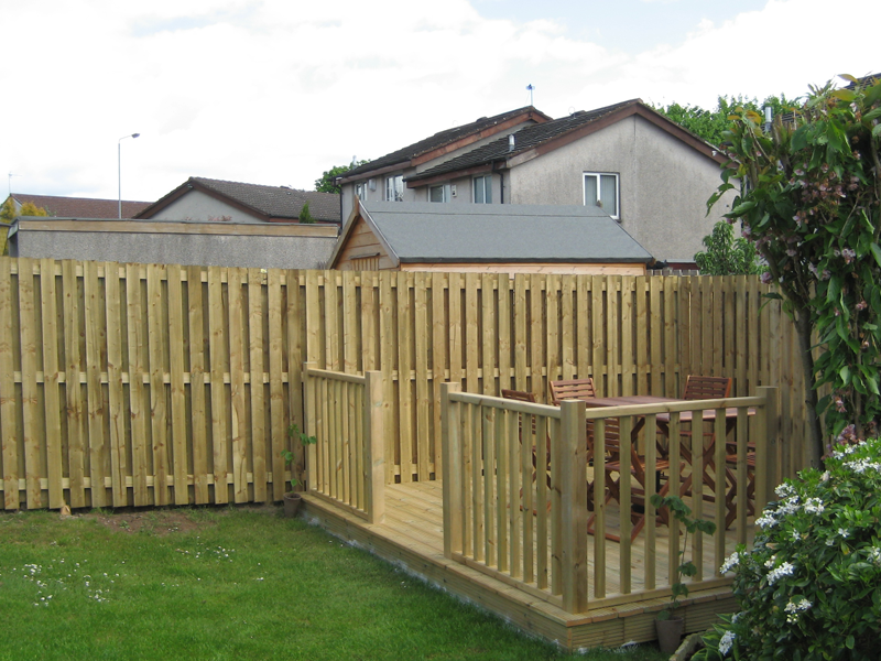 Garden Sheds Renfrewshire fencing and decking paisley - 1st fencing and decking